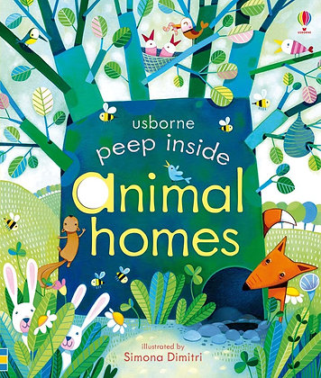 Usborne Peep Inside Animal Homes