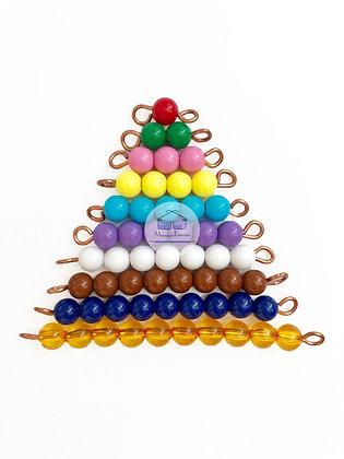 Montessori Short Beads Stair
