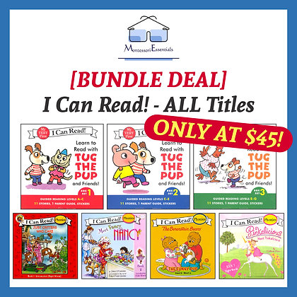 [Bundle Deal] I Can Read Books - All Titles