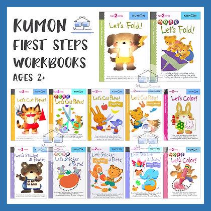Kumon First Steps Activity Workbook