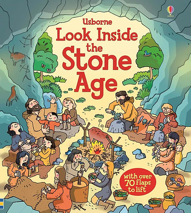 Usborne: Look Inside the Stone Age