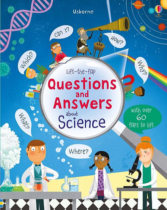 Usborne First QnA - About Science