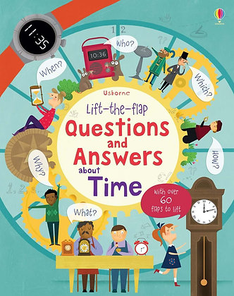 Usborne First QnA - About Time
