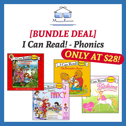 [Bundle Deal] I Can Read! - Phonics Book