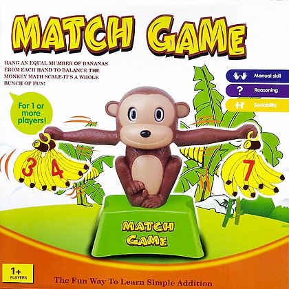 Monkey Matching Game