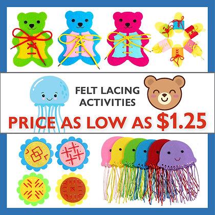 Children's Lacing Activity