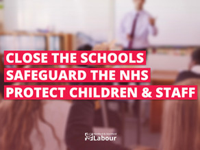 Hertford & Stortford Labour Back Union Calls to Close Schools and Protect Communities