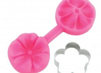 Blossom Sugar Art:  Blossom cutter & mould set