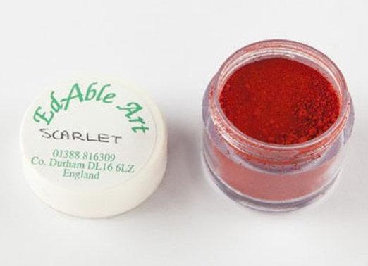 Edable Art colour dust - scarlet (red)