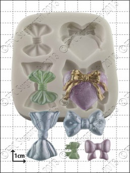 FPC Sugarcraft:  Bow silicone mould