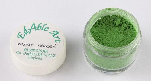 Edable Art colour dust - mint green (green)