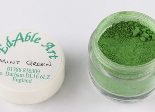 Edable Art colour dust - mint green (green)