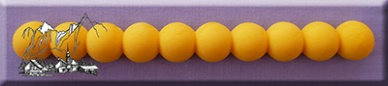 Alphabet Mould: Jumbo beads silicone mould