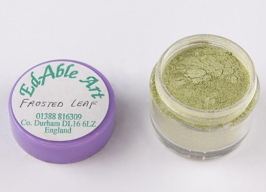 Edbale Art gold dust - frosted leaf (green)