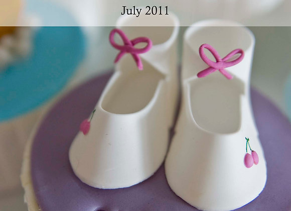 JEM:  Baby bootee cutters (set of 2)