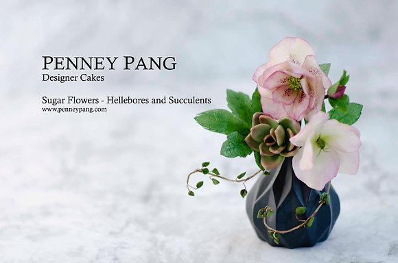 PENNEY PANG Designer Cakes:  Hellebore petal cutters (set of 5)