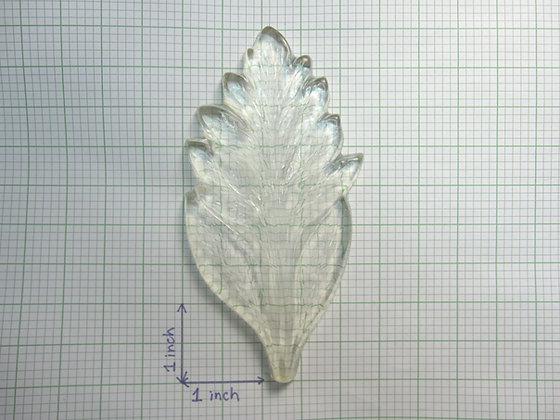 Single-sided chrysanthemum leaf veiner