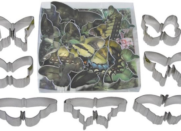 The Cookie Cutter Shop:  Butterfly cookie cutter set (a set of 7)
