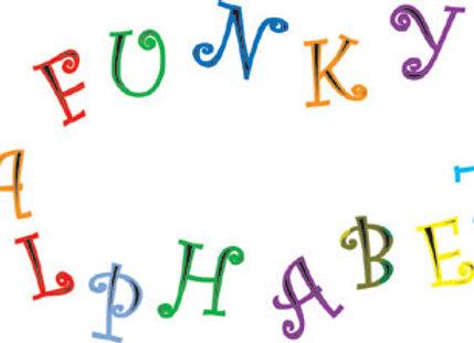 FMM:  Funky alphabet & number set (upper case)