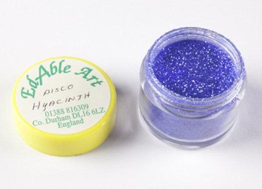 Edable Art sparkling dust - disco hyacinth (blue)