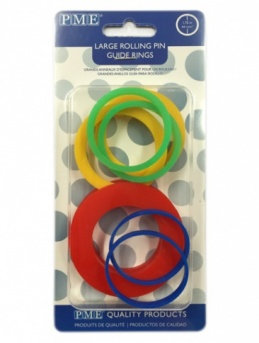 PME:  Large rolling pin guide rings (set of 4 pairs)