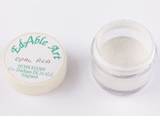 Edable Art iridescent dust - opal red (red)