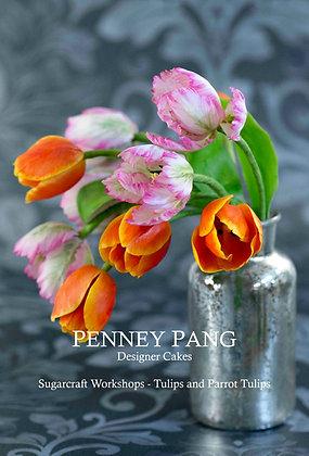Top Cake Studio:  Double-sided tulip petal veiner