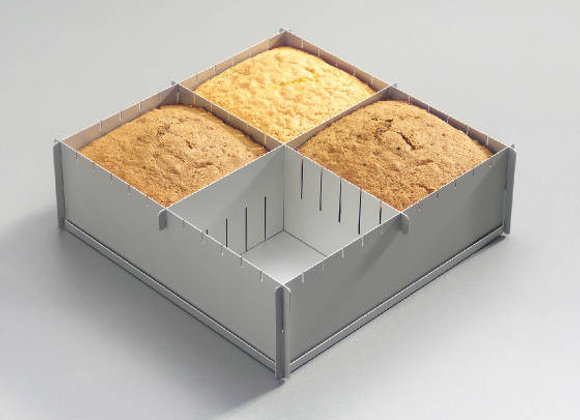 Alan Silverwood: Multisize cake pan and 2 sets of dividers