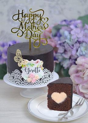 《Infinity Heart 愛 · 在心中》 Mother's Day Cake 我的媽媽 2021