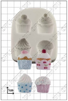 FPC Sugarcraft:  Cupcakes silicone mould