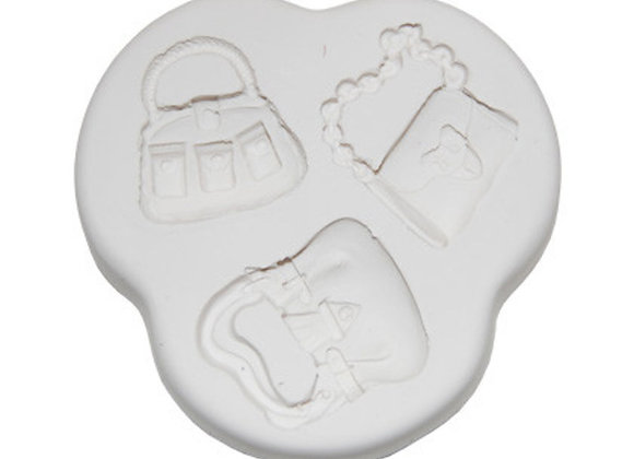 Squires Kitchen silicone mould Handbags 2