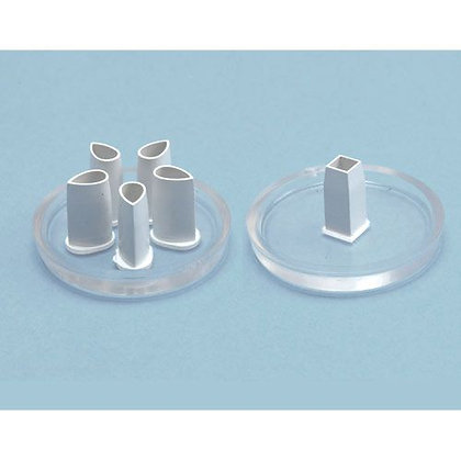 PME:  Broderie anglaise - square & 5 petal eyelet cutters (set of 2)