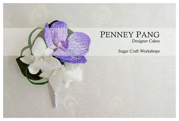 PENNEY PANG Designer Cakes:  Vanda orchid petal cutters (set of 4)