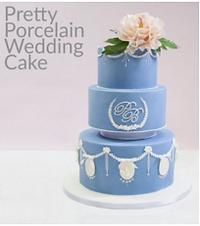 wedgood wedding cake sugar peony roya icing