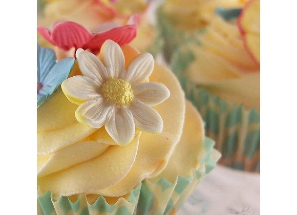 Blossom Sugar Art: Daisy cutter & mould set