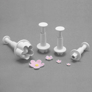 PME: Flower blossom plungers (set of 4)