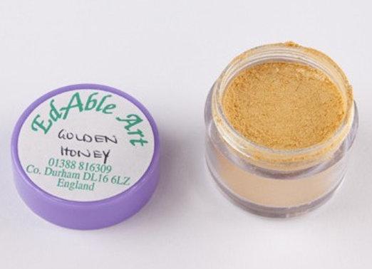 Edable Art gold dust - golden honey (orange)