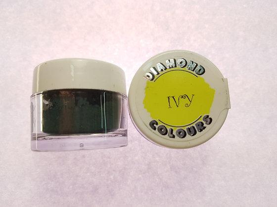 Diamond Colours colour dust - Ivy (dark green)