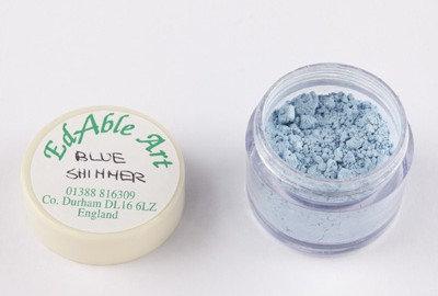 Edable Art lustre dust - blue shimmer (blue)