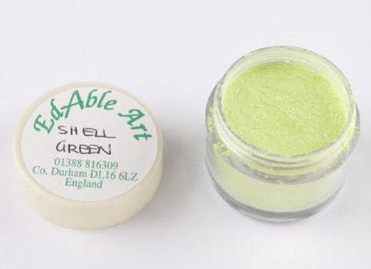Edable Art lustre dust - shell green (green)