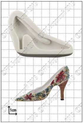 FPC Sugarcraft:  Fashion shoe (2) silicone mould