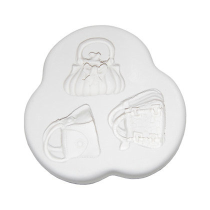 Squires Kitchen silicone mould Handbags 1
