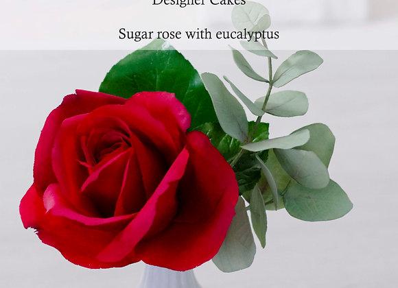 Marcel Veldbloem:  Double-sided rose petal round veiner (S)