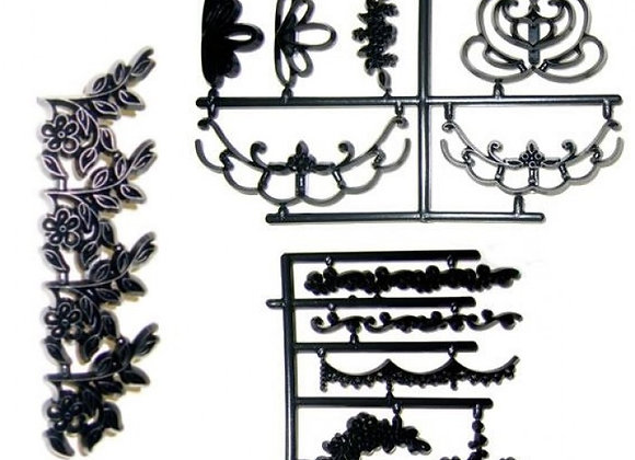Patchwork Cutters:  Embroidery embosser set