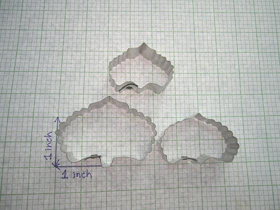 PENNEY PANG Designer Cakes:  Hydrangea serrated petal cutters (set of 3)
