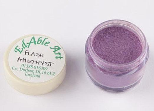 Edable Art lustre dust - flash amethyst (purple)