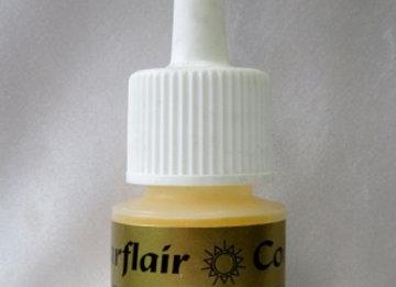 Sugarflaire Sugartex colour dust - Mimosa