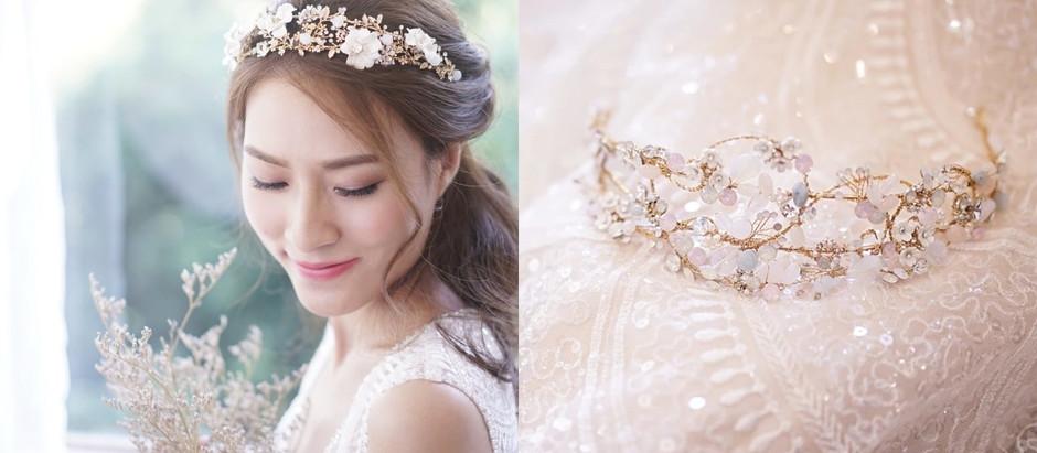 「專注做好一樣手藝」婚紗店主理人自製歐式唯美頭飾 - Deluxe
