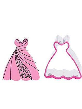 Blossom Sugar Art:  Wedding dress cookie cutter