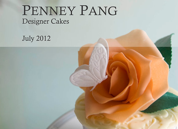 PENNEY PANG Designer Cakes:  Small petal cutters (set of 7)
